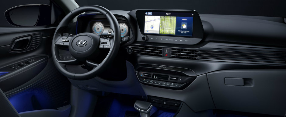 Cea mai noua masina de la Hyundai concureaza cu VW Polo si arata... exact asa. FOTO