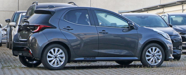 Cea mai noua masina de la Mazda e doar o Toyota rebranduita. Foto ca sa te convingi si singur