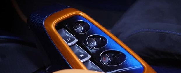 Cea mai noua masina de la McLaren este OZN pe roti. Cum arata PE VIU