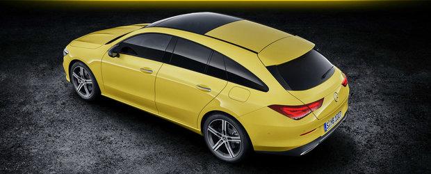 Cea mai noua masina de la Mercedes este si break, si coupe. FOTO ca sa te convingi si singur