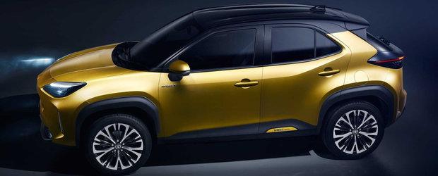 Cea mai noua masina de la Toyota e acest SUV de oras cu tractiune integrala si design indraznet. FOTO