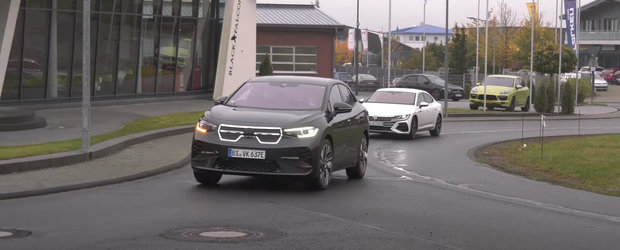 Cea mai noua masina de la VOLKSWAGEN a fost surprinsa camuflata in KIA. VIDEO ca sa te convingi si singur