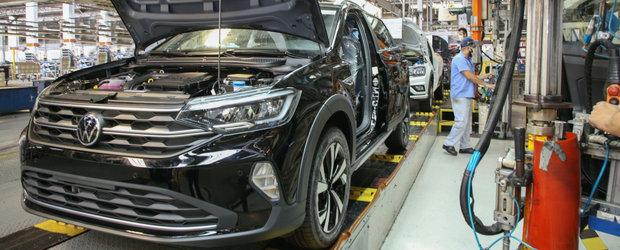 Cea mai noua masina de la Volkswagen e acest SUV Coupe pe care si-l permite oricine. Imagini exclusive de pe linia de productie