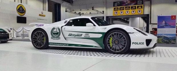 Cea mai noua masina de politie din Dubai are 887 CP si face SUTA in 2.6 secunde