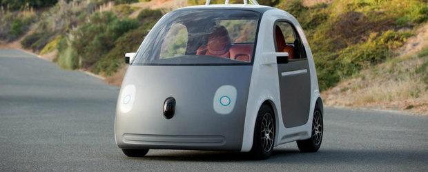 Cea mai noua masina Google: fara volan, fara pedale, 100% autonoma