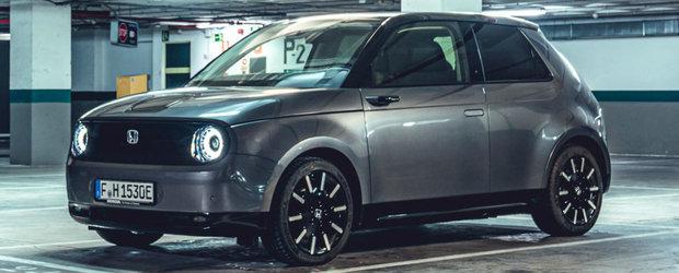 Cea mai noua masina lansata de Honda pe piata din Romania e aceasta simpatica electrica cu design retro si tehnologii moderne