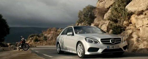 Cea mai noua reclama la Mercedes-Benz E-Class este de o subtilitate fina