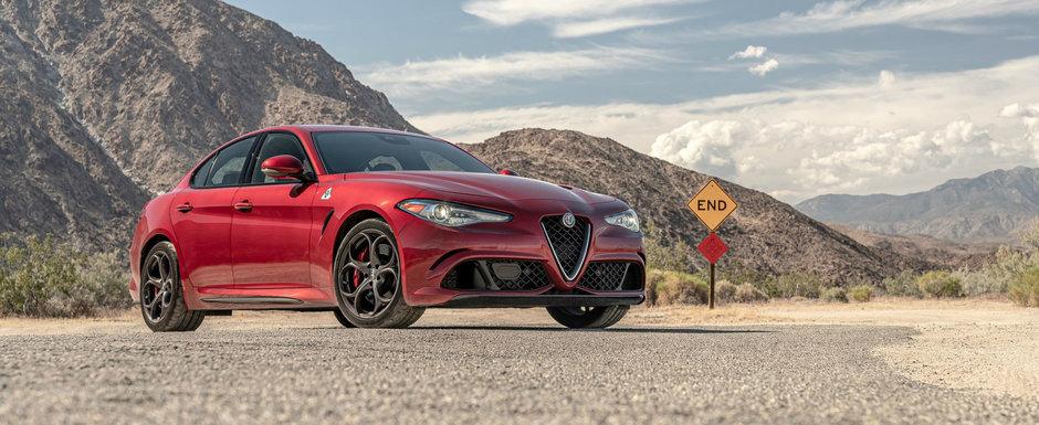 Cea mai proasta Alfa Romeo din lume a fost scoasa la vanzare