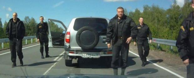Cea mai proasta meserie este la jandarmerie... in Rusia! Sau de ce sa nu claxonezi...