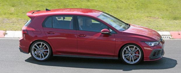 Cea mai puternica masina cu tractiune fata de la Volkswagen a fost surprinsa in teste complet necamuflata. FOTO
