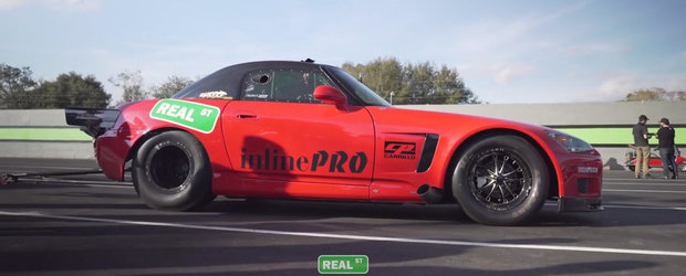 Cea mai rapida Honda S2000 din lume ascunde sub capota un motor cu peste 337 CP per cilindru