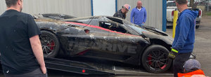 Cea mai rapida masina de serie de pe Pamant a fost avariata serios chiar inainte de a incerca sa stabileasca un nou record de viteza