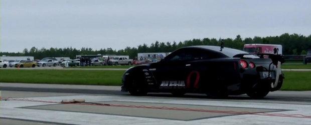 Cea mai rapida masina din lume: Alpha Omega GT-R accelereaza de la 0 la 300 km/h in 10.15 secunde!
