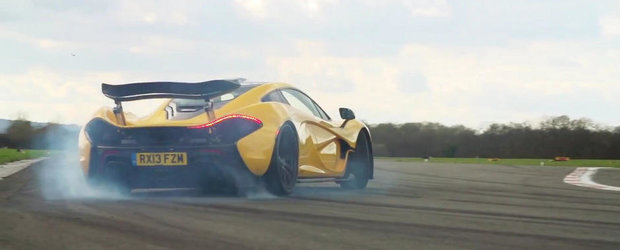 Cea mai rapida masina din lume? Test la limita cu noul McLaren P1