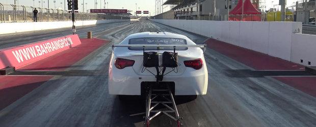 Cea mai rapida Toyota GT-86 din lume face sfertul de mila in 5.7 secunde si atinge 400 km/h