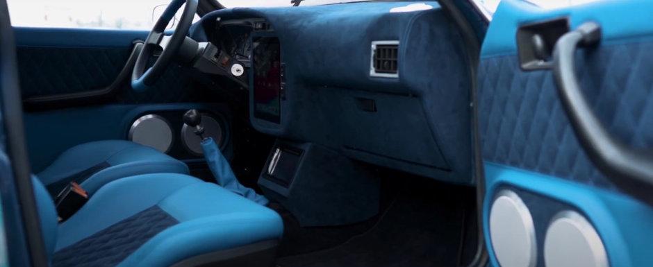 Cea mai spectaculoasa Dacie iti arata cum poti sa faci senzatie si fara sa conduci un BMW de ultima generatie. VIDEO