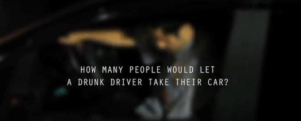 Cea mai tare campanie pe care o vei vedea impotriva bautului la volan