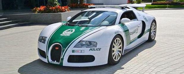 Cea mai tare masina de politie din lume? Un Bugatti Veyron de 1.001 CP!