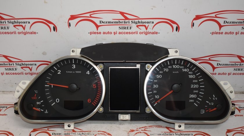 Ceas bord Audi A6 2.7 automat 2007 503001721801 458