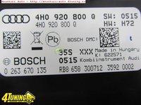 Ceasuri bord Audi S8 4H originale cod 4H0920800Q