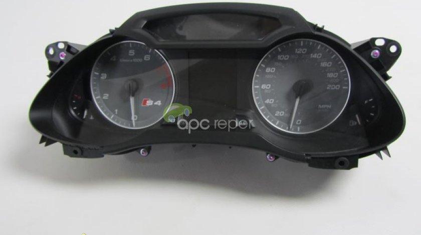 Ceasuri bord benzina originale Audi S4 b8 8K cod 8K0920980Q - A4 B8