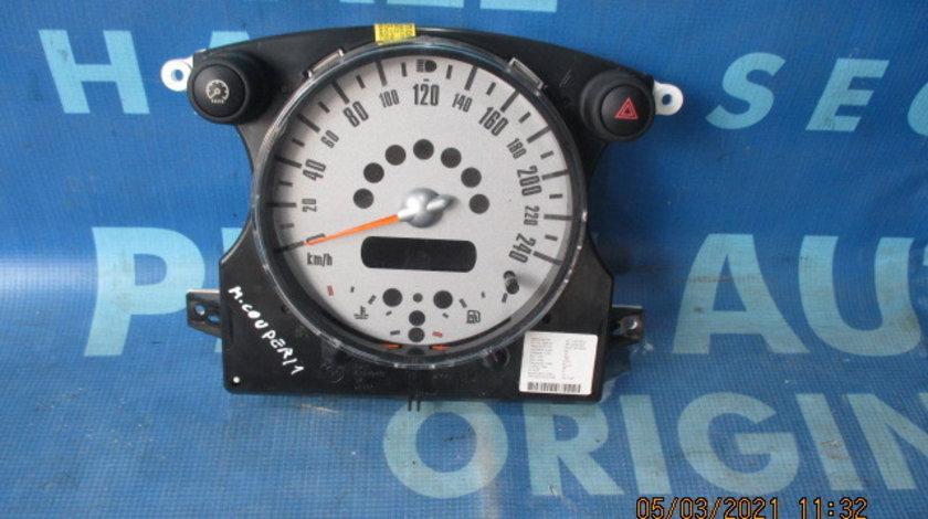 Ceasuri bord Mini Cooper 1.6i; 6918720 (pilot si avarii)