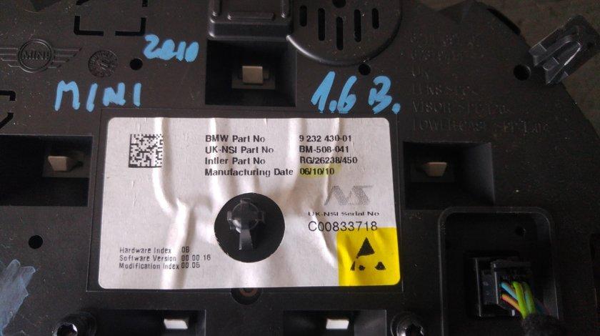 Ceasuri bord mini cooper r56 2007-2013 9232430-01