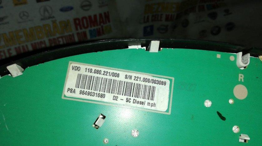 Ceasuri bord peugeot 407 2.0hdi 136cp RHR