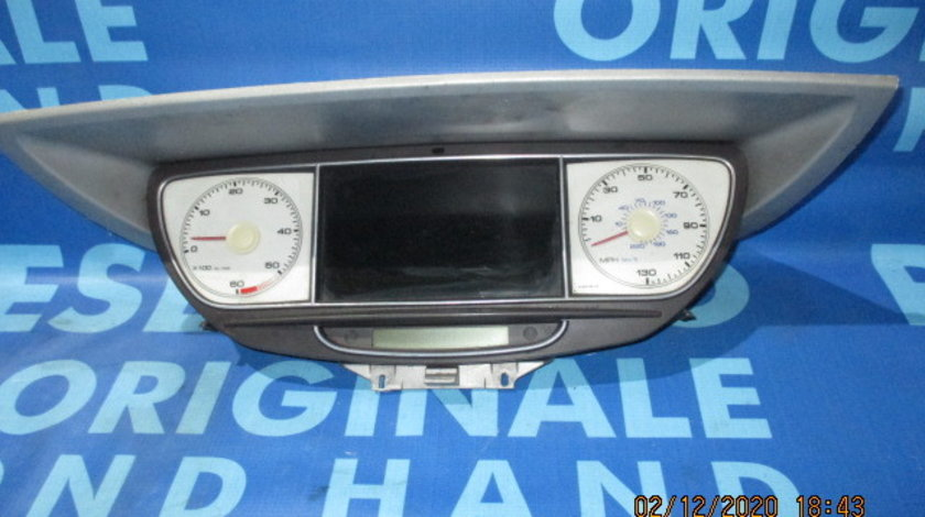 Ceasuri bord Peugeot 807 2.0hdi;  503550080223 (navigatie defecta, Anglia)