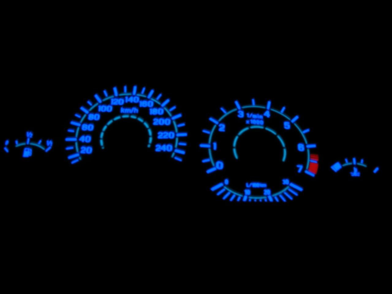 Ceasuri bord plasma BMW E36 benzina 260km/h