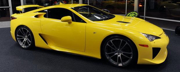 CEC modifica noul Lexus LFA, ne provoaca sa intrebam 'De Ce?'