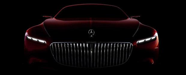 Cei 6 metri de lux extrem de la Mercedes-Maybach au acum un nume si un teaser video
