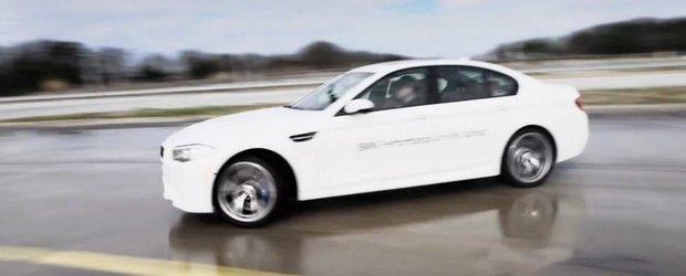Cei de la BMW vor sa doboare recordul mondial de Drift