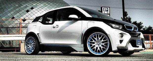 Cel mai agresiv BMW i3 se afla in Japonia si arata ca o masina de curse
