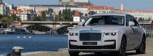 Cel mai avansat Rolls-Royce din istorie, noul GHOST, a ajuns in Romania