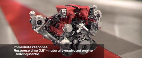 Cel mai bun motor din lume disecat in fata ta: V8-ul bi-turbo de 3.9 litri al celor de la Ferrari