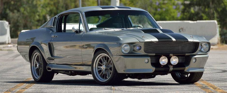 Cel mai cunoscut Mustang din lume iese la vanzare. Multi il stiu de la televizor