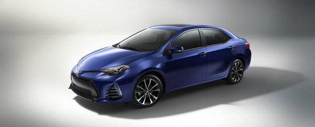 Cel mai de succes model din lume primeste cateva imbunatatiri. Toyota Corolla vrea sa-si faca in 2017 si mai multi fani