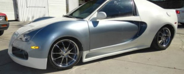 Cel mai ieftin Bugatti Veyron este de vanzare si costa doar 6000 de Euro!