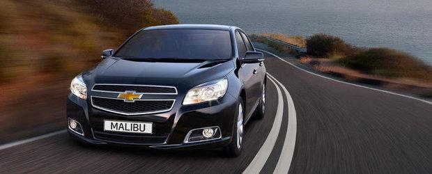 Cel mai ieftin Chevrolet Malibu va costa in Romania 25.300 de euro