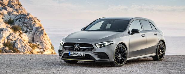 Cel mai ieftin Mercedes poate fi comandat si in Romania. De la cat porneste noua generatie A-Class