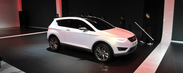 Cel mai important model din gama Seat va fi un SUV sportiv