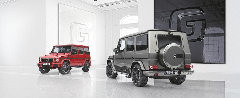 Cel mai longeviv SUV din istoria Mercedes-Benz primeste doua editii speciale