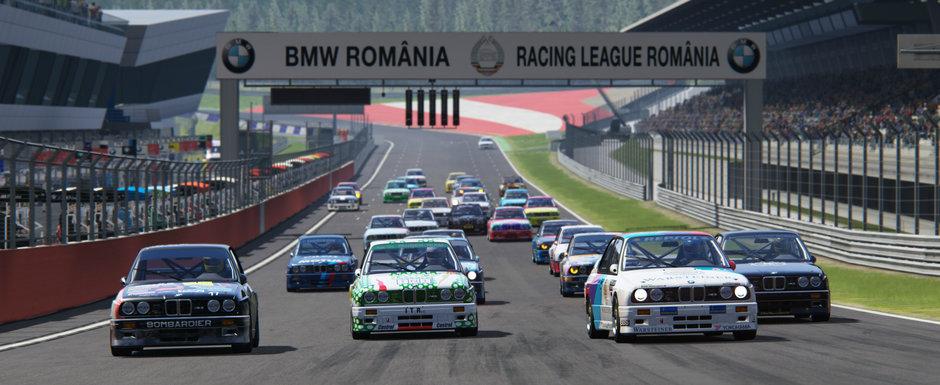 Cel mai mare campionat de sim racing din Romania a debutat cu record de participare. Urmeaza etapa de la Adancata