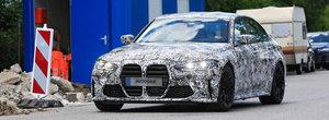 Cel mai mare cosmar al fanilor ar putea deveni realitate. Noul BMW M3, surprins in teste cu grila de Seria 4 Coupe