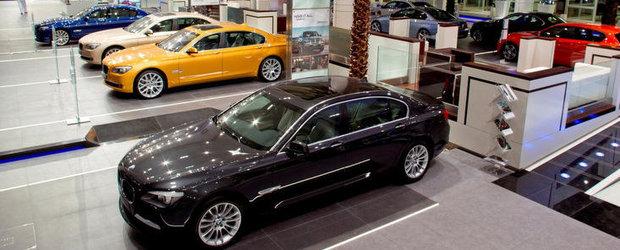 Cel mai mare showroom BMW a fost inaugurat in Abu Dhabi