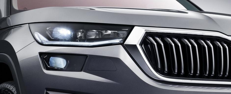 Cel mai mare SUV de la Skoda a primit un facelift major. Cehii au publicat acum primele imagini si detalii oficiale