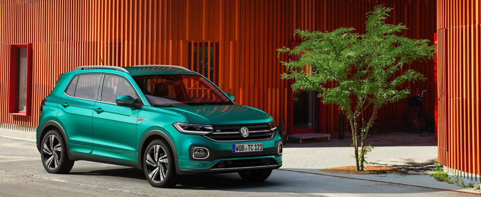 Cel mai mic crossover de la Volkswagen disponibil si in Romania. 20.000 de euro pentru motorul de 1.0 litru