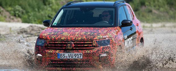 Cel mai mic SUV din gama Volkswagen debuteaza pe 25 octombrie. Detalii tehnice despre noul T-Cross