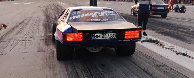 Cel mai nebun BMW E30 din ROMANIA are peste 1.000 de cai putere si face sfertul de mila in 9.4 secunde